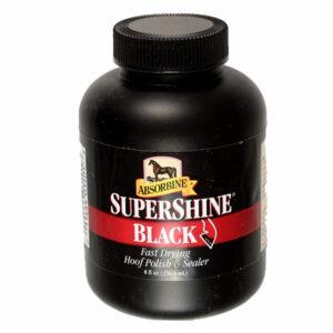 Absorbine Super Shine Hoof Polish Black