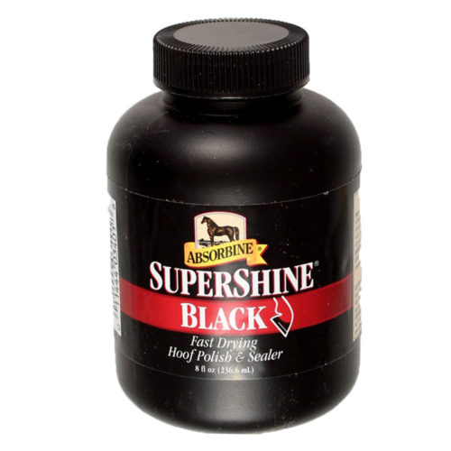 Absorbine Super Shine Hoof Polish Black
