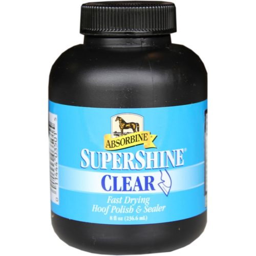 Absorbine Super Shine Hoof Polish Clear