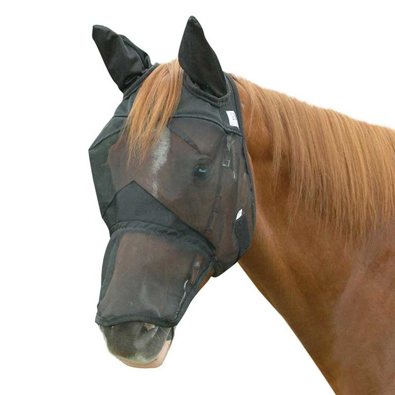 Cashel Crusader Quiet Ride Out Fly Mask