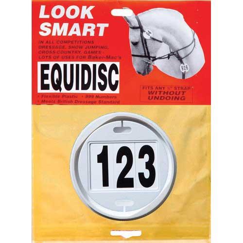 Equidisc Bridle Number Holder Britsih Dressage approved **FREE UK POSTAGE**