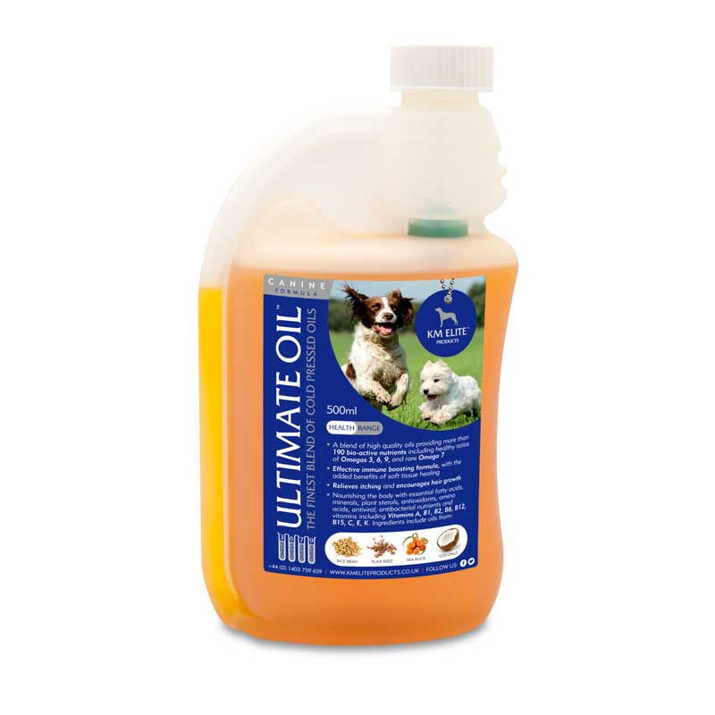 KM Elite Canine Ultimate Oil 500ml