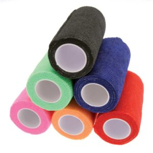 KM CoHesive Bandage Wrap Mixed Colours