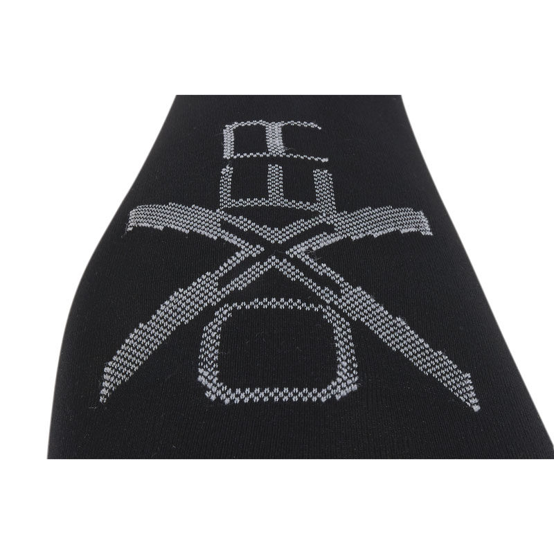 OXER Competition Riding Socks Black Logo