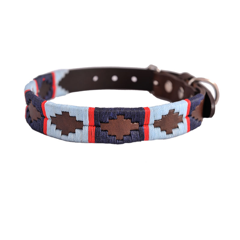Pioneros Pampa Leather Dog Collars