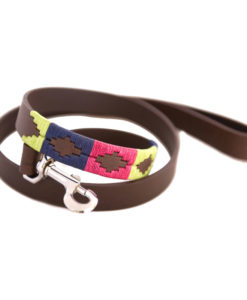 Pampa Leather Polo Dog Leads