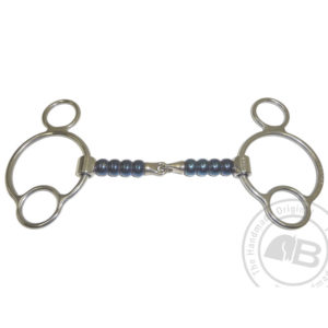 Bomber Bits Cherry Roller 2.5 Ring Snaffle