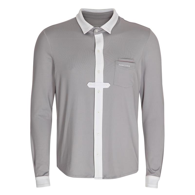 Harcour Mens Sandro Long Sleeve Competition Shirt