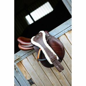 Kentucky Sheepskin Anatomic Leather Girth