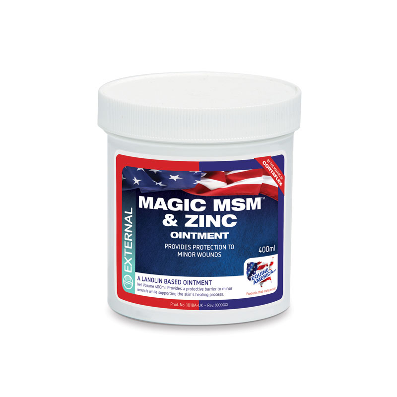 Equine America MSM & Zinc Ointment