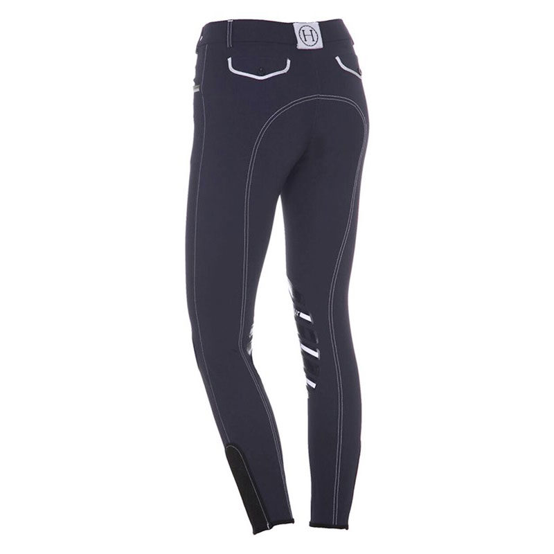 Harcour Ladies Breeches Jalisca Navy Back