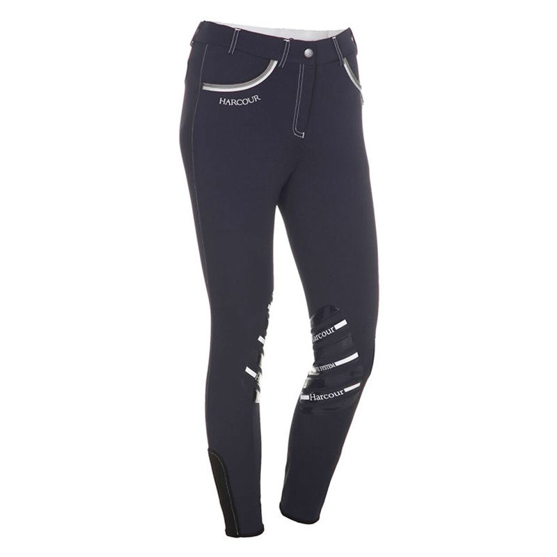Harcour Ladies Breeches Jalisca Navy Front
