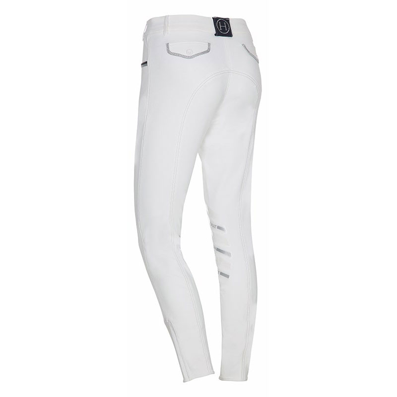 Harcour Ladies Breeches Jalisca White Back