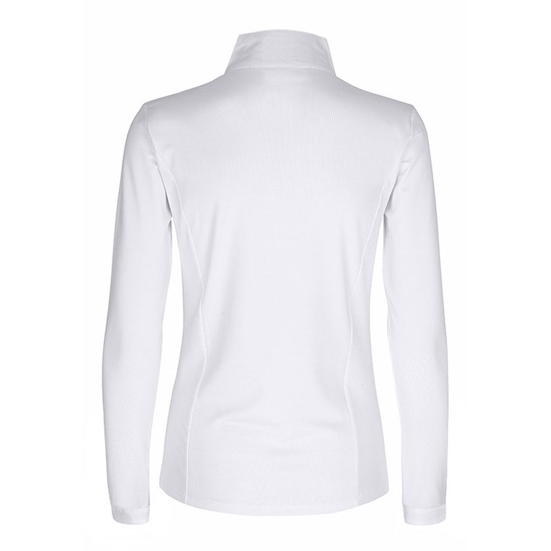 Harcour Amelia Ladies Long Sleeve Competition Shirt Back