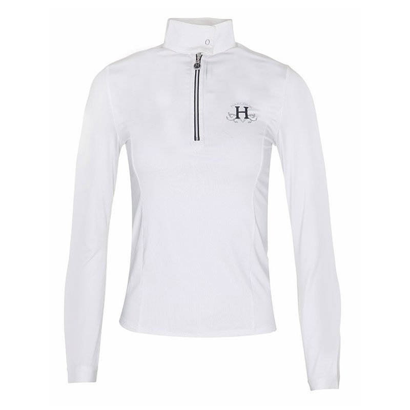 Harcour Amelia Ladies Long Sleeve Competition Shirt Front