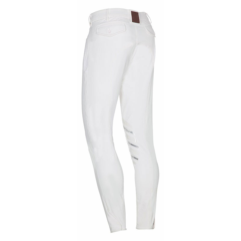 Harcour Mens Costa Breeches White Back