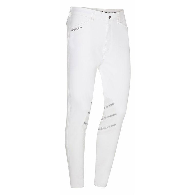 Harcour Mens Costa Breeches White