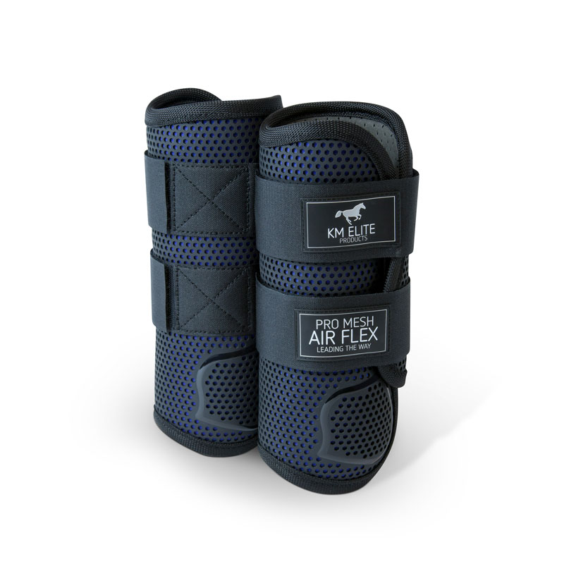 KM Elite Pro Mesh Eventing Boot Front