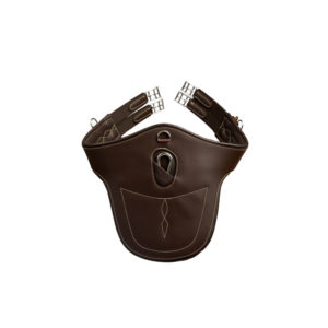 Kentucky Horsewear Leather Stud Girth