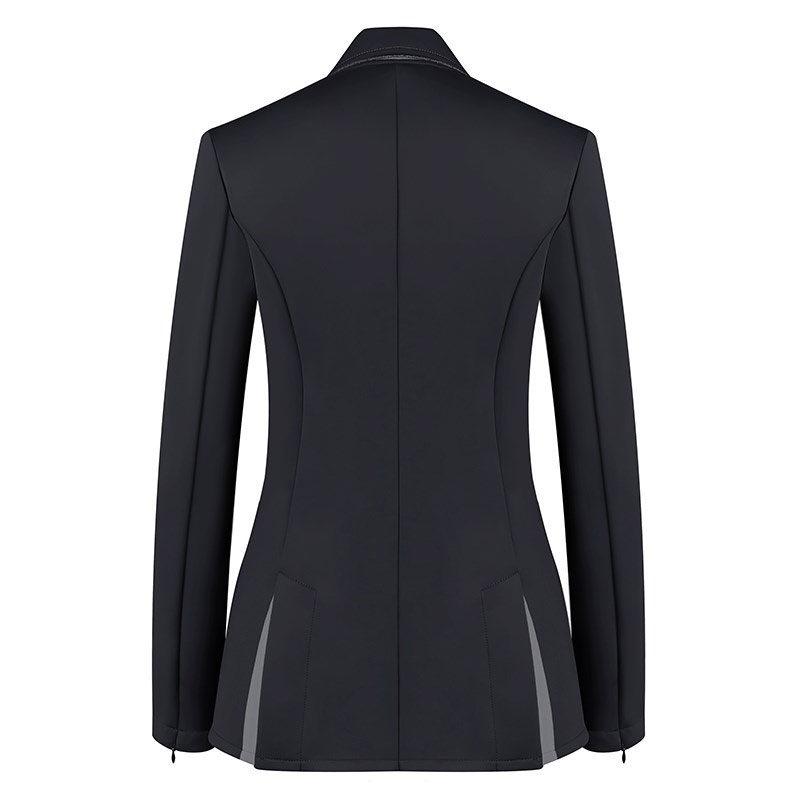 Harcour Ladies Competition Show Jacket Cella Black Back