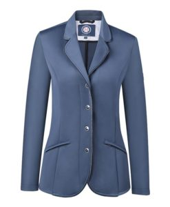 Harcour Ladies Competition Show Jacket Cella Slate Front