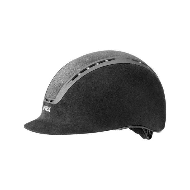 UVEX Suxxeed Glamour Riding Hats Black Black