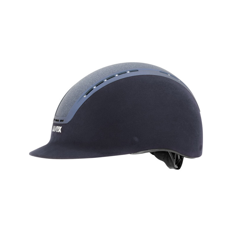 UVEX Suxxeed Glamour Riding Hats Blue Blue
