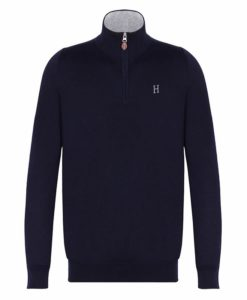 Harcour Gaspard Mens Pullover Navy