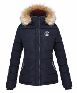Harcour Charlotte Ladies Padded Jacket Navy