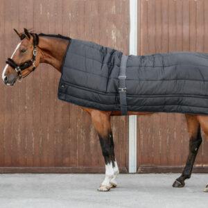 Horse Duvet Under Rug Black