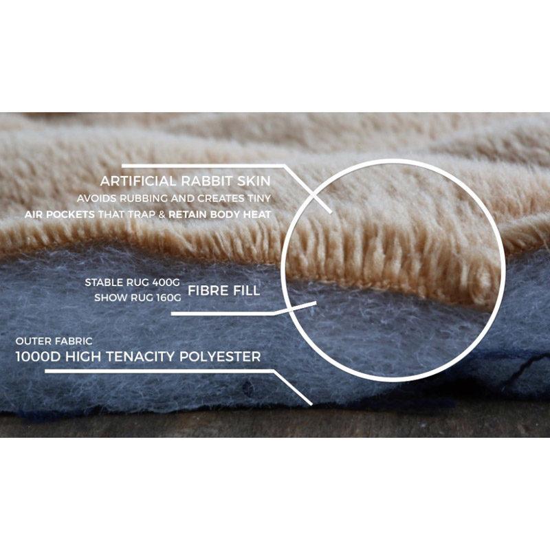 Kentucky Horsewear Faux Rabbit Skin