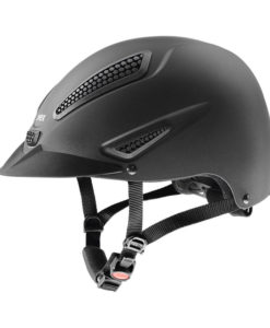 UVEX Perfexxion II Riding Hat Black