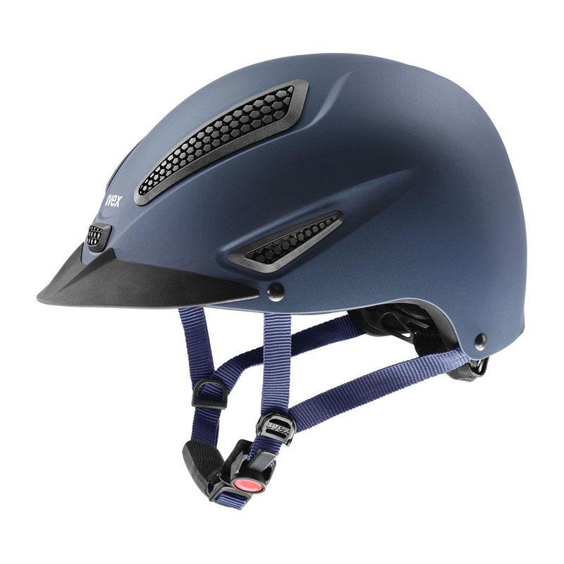 UVEX Perfexxion II Riding Hat Blue