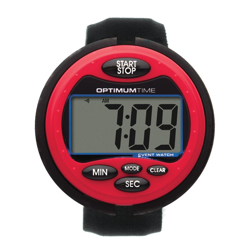 Optimum Time Event Stopwatch Red