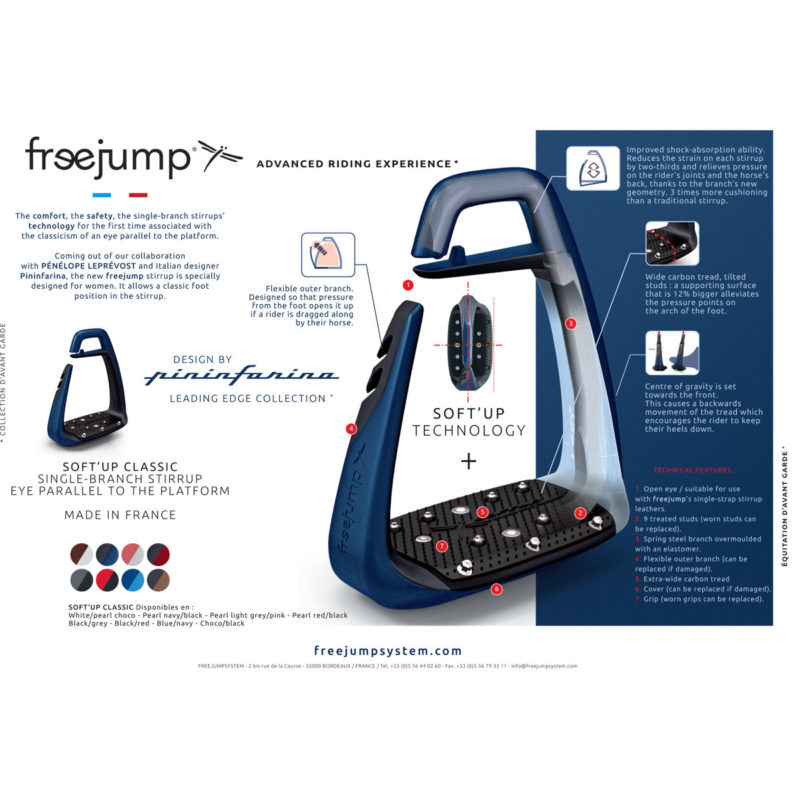 TheFreejump Soft Up Classic Stirrups News Release
