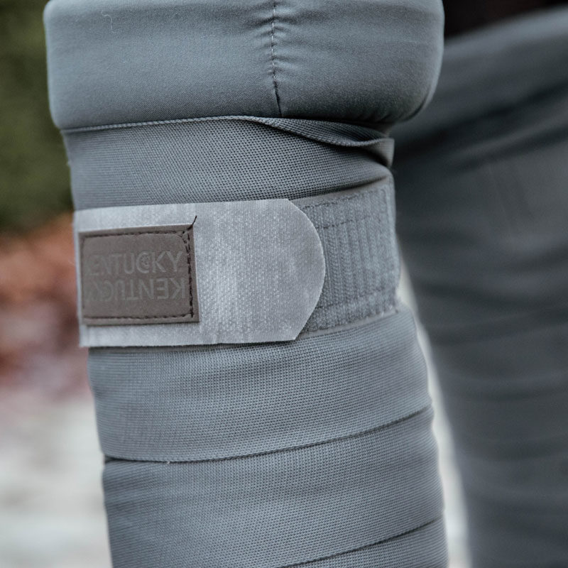 Kentucky Horsewear Repellent Stable Bandages Grey 2