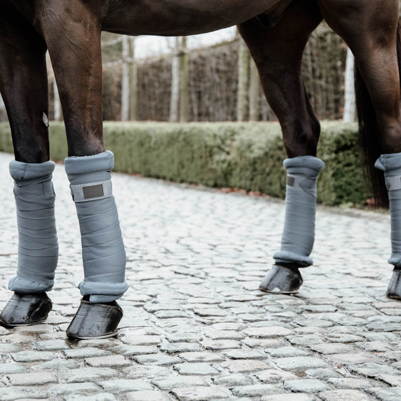 Kentucky Horsewear Repellent Stable Bandages Grey 3