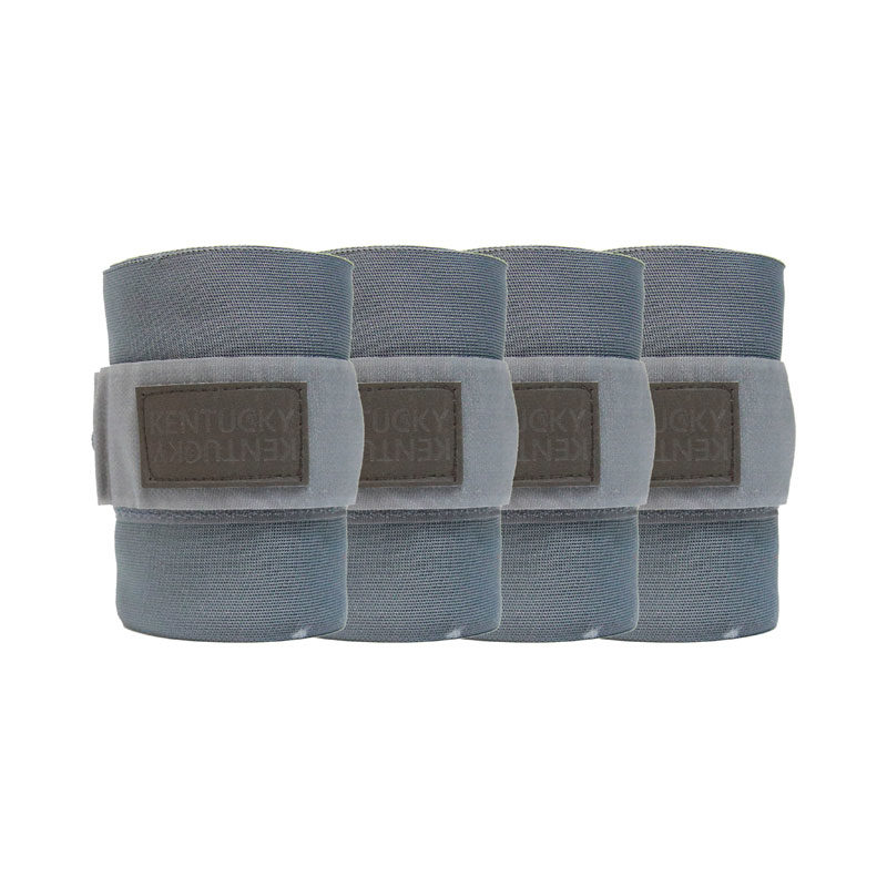 Kentucky Horsewear Repellent Stable Bandages Grey