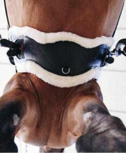 Kentucky Horsewear Sheepskin Anatomic Short Leather Girth