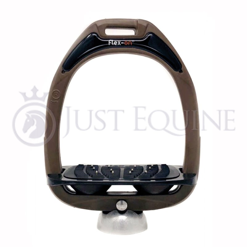 Flex-On Stirrups Brown Black Black