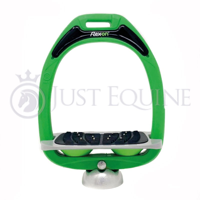 Flex-On Stirrups Green Grey Green