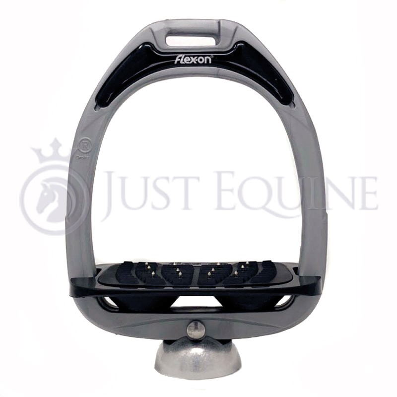Flex-On Stirrups Light Grey Black Black