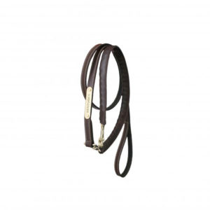 Kentucky Horsewear Leather Covered Lead Chain