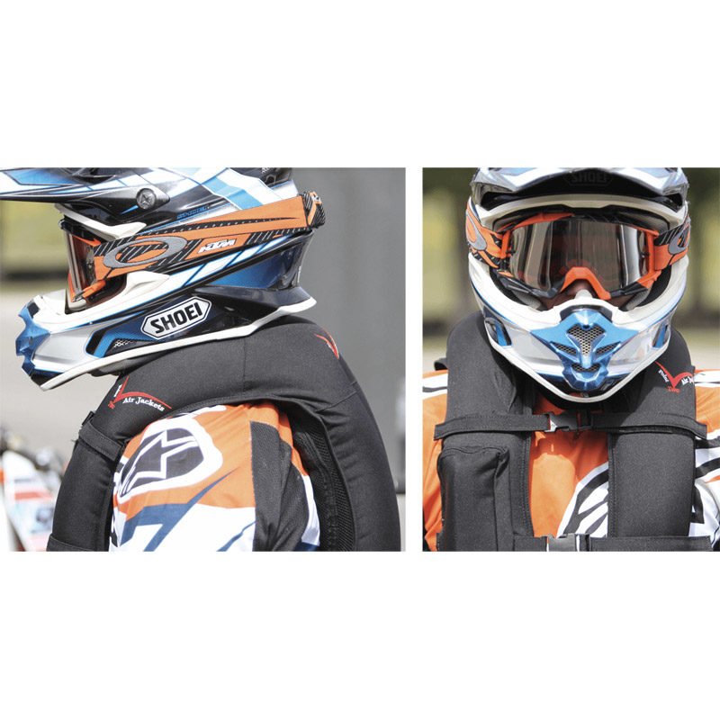 Point Two Motorbike Air Vest Inflated 800