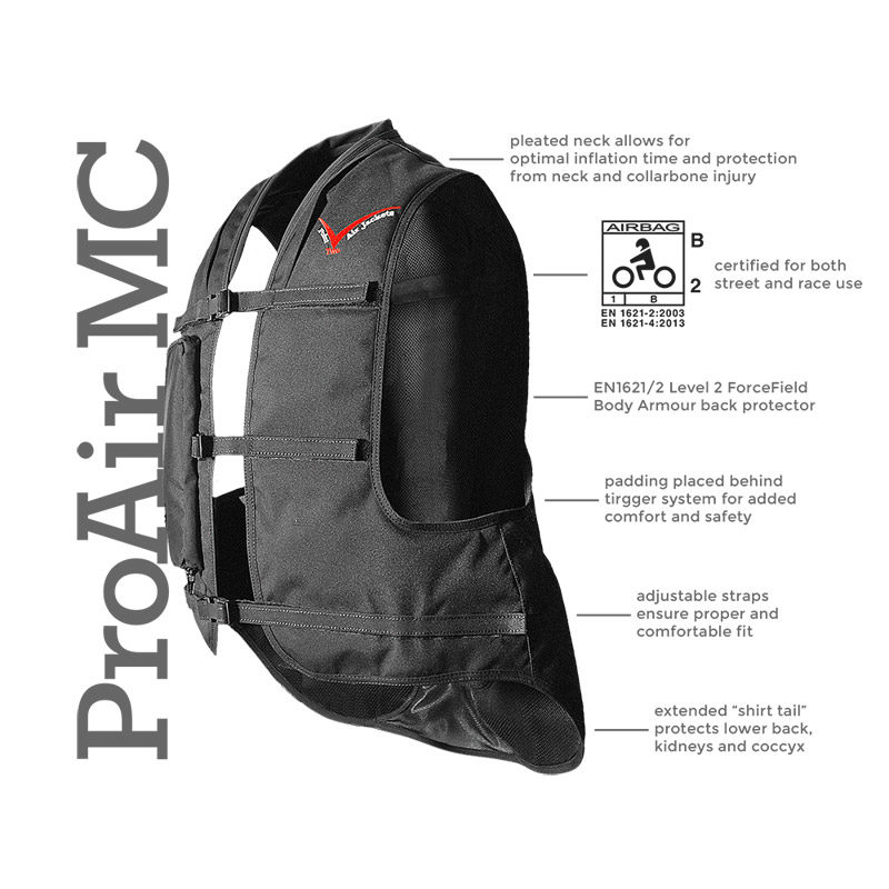 Point Two Motorbike Air Vest MC
