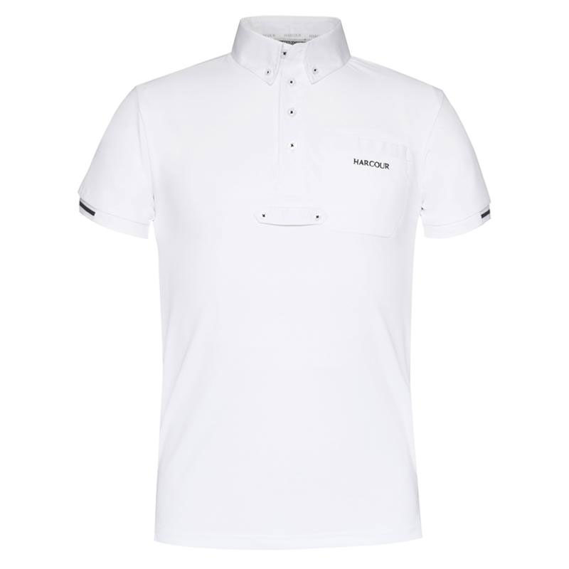 Harcour Mens Crystallo White Front