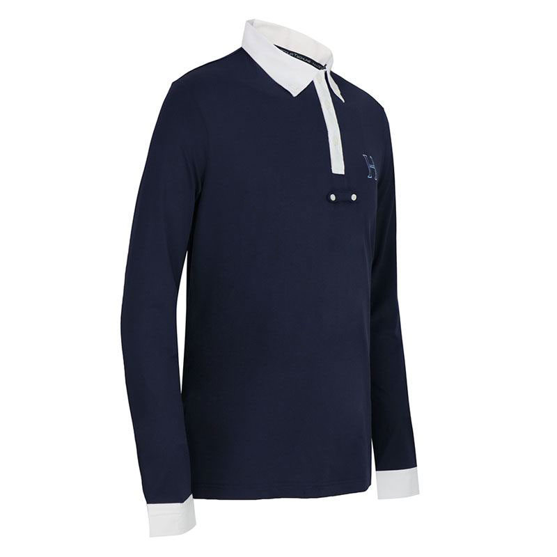 Harcour Boys Orion Competition Shirt Navy 2