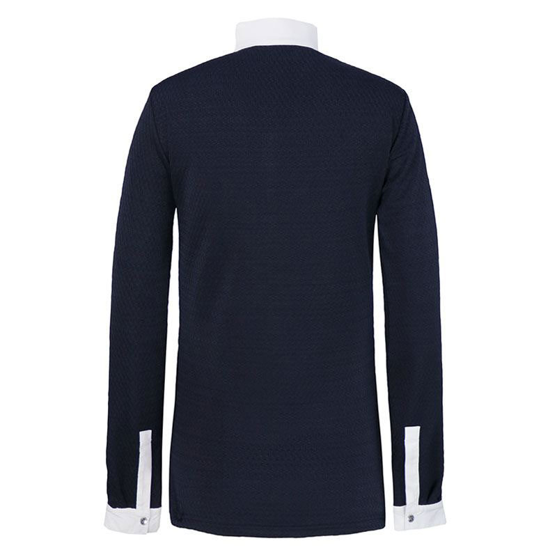 Harcour Kids Altair Techline Competition Long Sleeve Shirt Navy3