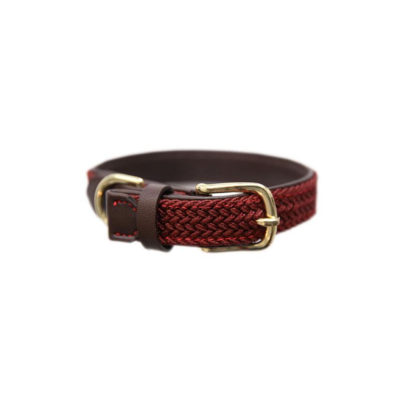 Kentucky Horsewear Dog Collar Bordeaux