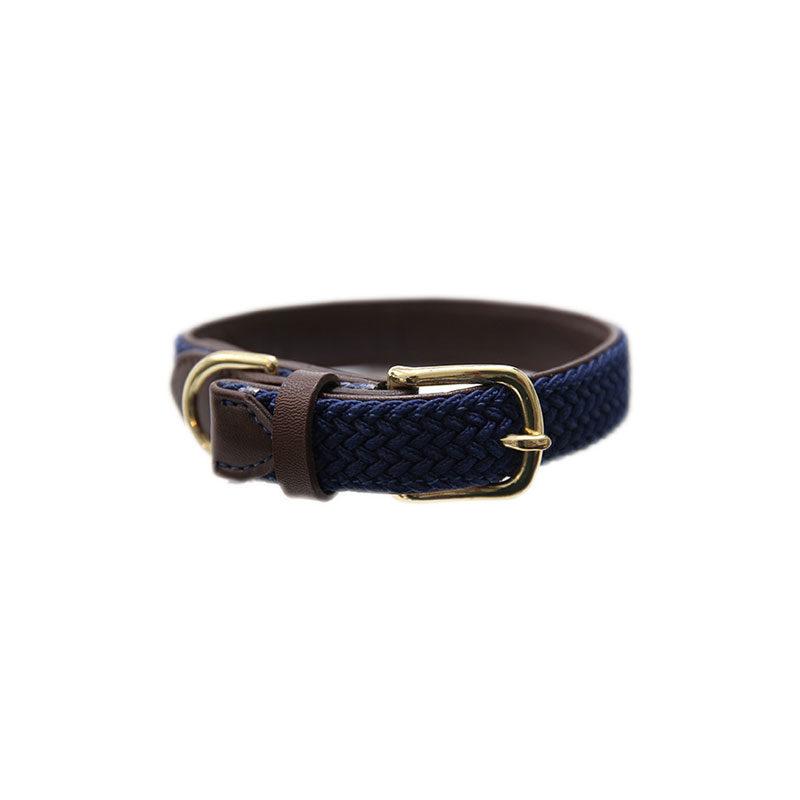 Kentucky Horsewear Dog Collar Navy